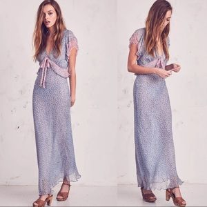 LoveShackFancy Lillian floral maxi Dress